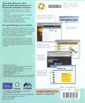 Dreamweaver 4 Et Fireworks 4 ; Training From The Source - 4ème de couverture - Format classique
