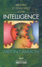 Mesurez Developpez Votre Intelligence - Intérieur - Format classique