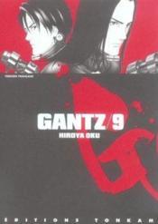 Gantz t.9 - Couverture - Format classique