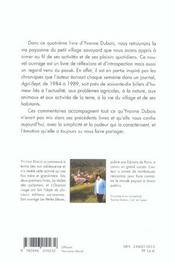 Couleur de terroir carnets d'une paysanne savoyarde - 4ème de couverture - Format classique