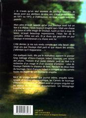 Doulaye, Une Saison Des Pluies ; Carnets De Tournage - 4ème de couverture - Format classique