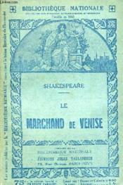 Le Marchande De Venise - Drame En Cinq Actes. - Couverture - Format classique