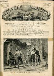 L'UNIVERS ILLUSTRE - DIX-NEUVIEME ANNEE N° 1115 - Salon de 1876. - Une première affaire, tableau de M. V. Juglar, d'après une photographie de M.Goupil. - Couverture - Format classique