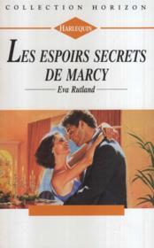 Les espoirs secrets de Marcy - Couverture - Format classique