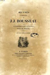 Oeuvres Completes De J. J. Rousseau, Tome Ii, Lettre A D'Alembert - Couverture - Format classique