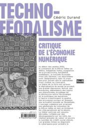 Technoféodalisme ; critique de l'économie numérique - Couverture - Format classique