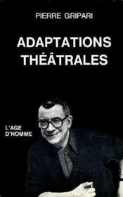 Adaptations Theatrales - Couverture - Format classique