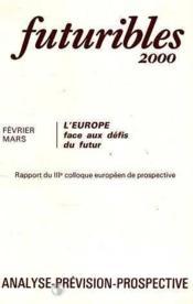 Futuribles N.31 Fevrier Mars 1980 - Couverture - Format classique