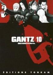 Gantz T.10 - Couverture - Format classique