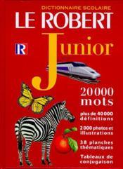 Robert junior export - Couverture - Format classique