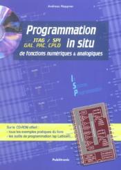 Programmation In Situ De Fonctions Numeriques Et Analogiques Avec Cd - Couverture - Format classique