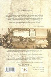 Champlain, le fondateur de Québec - 4ème de couverture - Format classique