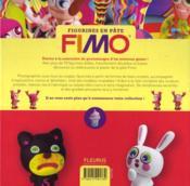 Figurines en pâte Fimo ; plus de 70 modèles et accessoires faciles à réaliser - 4ème de couverture - Format classique