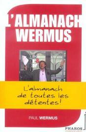 L'almanach Wermus : L'almanach de toutes les détentes - Intérieur - Format classique