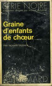 Collection : Serie Noire N° 1648 Graine D'Enfants De Choeur - Couverture - Format classique
