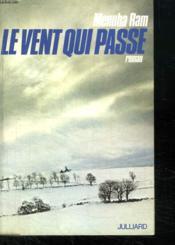 Le Vent Qui Passe. - Couverture - Format classique