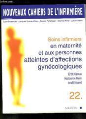 Soins infirmiers en maternité et aux personnes atteintes d'affections gynécologiques - Couverture - Format classique