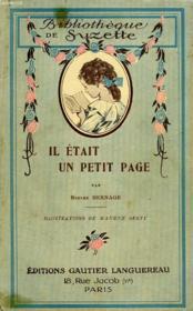 Il Etait Un Petit Page - Couverture - Format classique