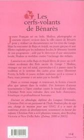 Les cerfs-volants de benares - 4ème de couverture - Format classique