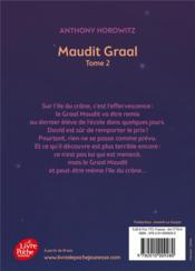 David Eliot t.2 ; maudit Graal - 4ème de couverture - Format classique