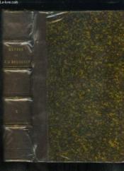 Oeuvres complètes de J.J. Rousseau avec des notes historiques. TOME 2 : Julie ou la Nouvelle Eloïse - Emile, ou De l'Education. - Couverture - Format classique