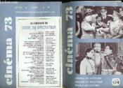 Cinema 73 N° 174 - Cinema Et Histoire - Images De Belgique - Marco Bellochio - Couverture - Format classique