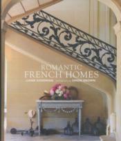 Romantic French Homes - Couverture - Format classique