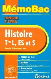 Histoire terminale l/es/s (édition 2006) - Intérieur - Format classique