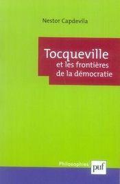 Tocqueville et les frontières de la démocratie - Intérieur - Format classique