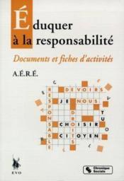 Education a la responsabilite - Couverture - Format classique