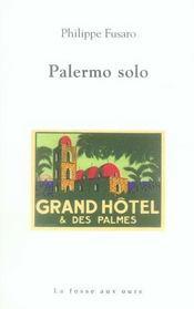 Palermo solo - Intérieur - Format classique
