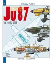 Le junkers JU 87 - Couverture - Format classique