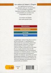 LES CAHIERS BIOCONSTRUCTION T.2 ; géobiologie ; mythe ou réalité ? - 4ème de couverture - Format classique