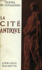 La Cite Antique - Couverture - Format classique
