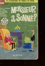 Monsieur A Sonne ? - Tout L'Humour De John Gallagher - Couverture - Format classique
