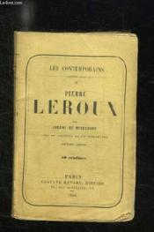 Les Contemporains. Pierre Leroux. - Couverture - Format classique