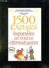 Rictus t.5; 1500 excuses imparables en toute occasion - Couverture - Format classique