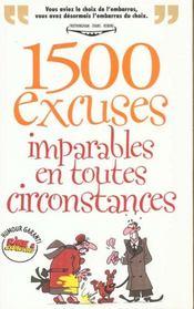Rictus t.5; 1500 excuses imparables en toute occasion - Intérieur - Format classique
