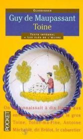 Toine et autres contes normands - Couverture - Format classique