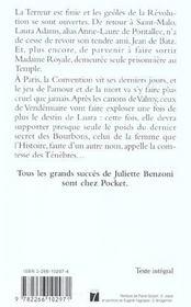 La comtesse des tenebres - tome 3 - 4ème de couverture - Format classique
