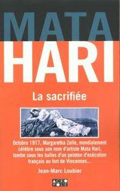 Mata Hari La Sacrifiee - Intérieur - Format classique