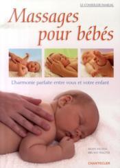 Massages pour bébé - Couverture - Format classique
