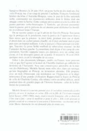 Sarajevo 1914 ; Vie Et Mort De Gavrilo Princip - Couverture - Format classique