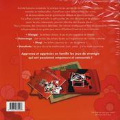 Coffret Jeux Orientaux - 4ème de couverture - Format classique