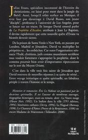 La Prophetie D'Ascalon - 4ème de couverture - Format classique