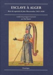 Esclave à Alger - Couverture - Format classique