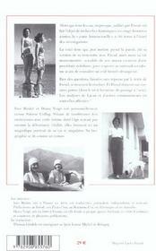 Sidonie Csillag, Homosexuelle Chez Freud - 4ème de couverture - Format classique