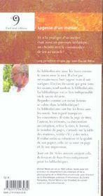 Sagesse Du Bibliothecaire - 4ème de couverture - Format classique