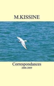Correspondances 2006-2009 - Couverture - Format classique