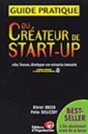 Guide Pratique Du Createur De Start-Up - Couverture - Format classique